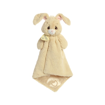 Precious Moments Tan Floppy Bunny Luvster Baby Blanket by Aurora