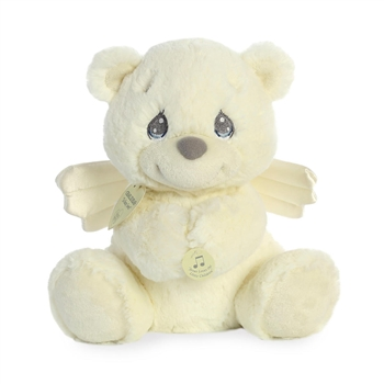 Precious Moments Musical Charlie Angel Bear Stuffed Animal by Aurora