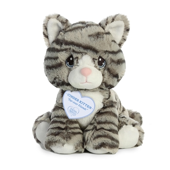 Precious Moments Cinder Kitten Stuffed Animal by Aurora