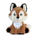 Precious Moments Smarty Fox Stuffed Animal by Aurora