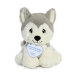 Precious Moments Malakai Wolf Stuffed Animal by Aurora