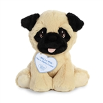 Precious Moments Bella Pug Stuffed Animal by Aurora