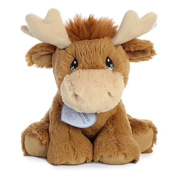 Precious Moments Monty Moose Stuffed Animal by Aurora