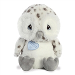 Precious Moments Medium Nigel Snowy Owl Stuffed Animal by Aurora