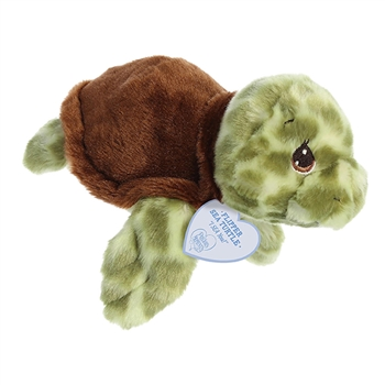 Precious Moments Flipper Sea Turtle Stuffed Animal by Aurora