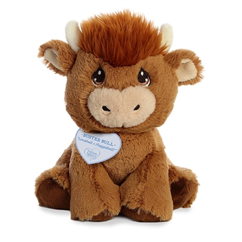 Precious Moments Buster Bull Stuffed Animal by Aurora