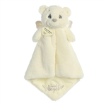 Precious Moments White Angel Bear Luvster Baby Blanket by Aurora