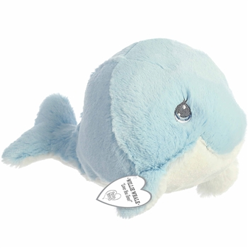 Precious Moments Willie Blue Whale Stuffed Animal by Aurora