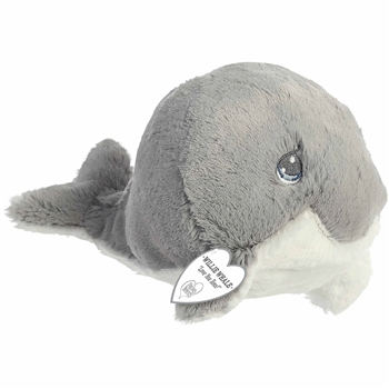 Precious Moments Willie Gray Whale Stuffed Animal by Aurora