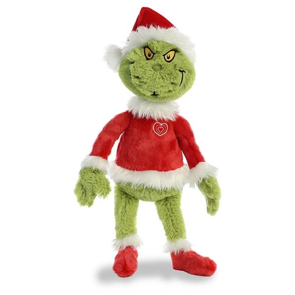 Dr Seuss Santa Grinch Stuffed Animal Aurora Stuffed Safari