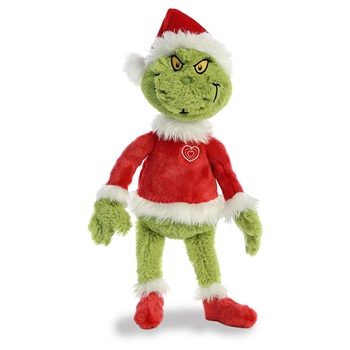 Dr. Seuss Santa Grinch Stuffed Animal by Aurora