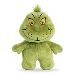 Small Stuffed Grinch Dr. Seuss Dood Plush by Aurora