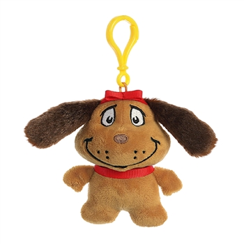 Dr. Seuss Max the Dog Clip-On Stuffed Animal by Aurora