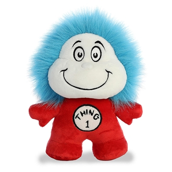 Small Stuffed Thing 1 and Thing 2 Dr. Seuss Dood Plush by Aurora