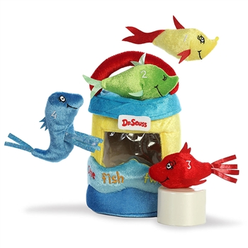 Dr. Seuss One Fish Two Fish Playset for Babies by Aurora
