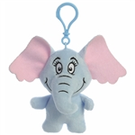 Dr. Seuss Horton the Elephant Clip-On Stuffed Animal by Aurora
