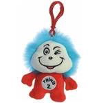 Dr. Seuss Thing 2 Clip-On Stuffed Animal by Aurora