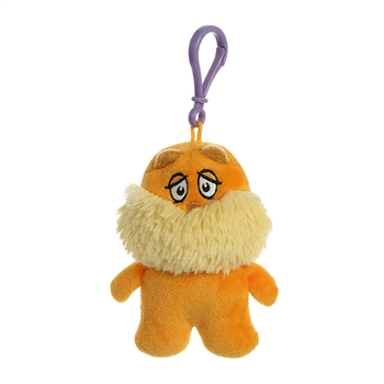Dr. Seuss The Lorax Clip-On Stuffed Animal by Aurora