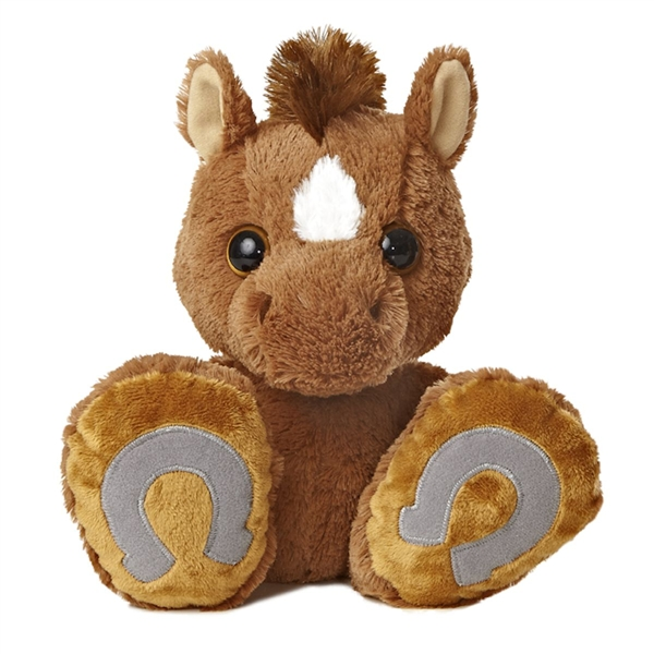 Trots The Taddle Toes Horse Stuffed Animal By Aurora At Stuffed Safari