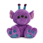 Lucas the Stuffed Purple Alien Taddle Toes by Aurora