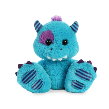 Maurice the Stuffed Blue Monster Taddle Toes by Aurora
