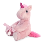 Plush Pink Unicorn Vase Hugger by Aurora