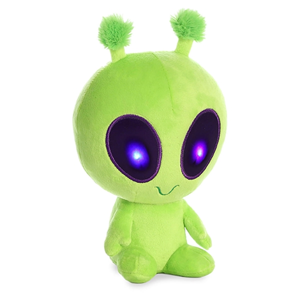 alien plush doll, things that are green