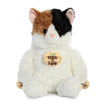 Peek A Boo Playing Calico Cat Stuffed Animal by Aurora