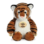 Peek A Boo Playing Tiger Stuffed Animal by Aurora
