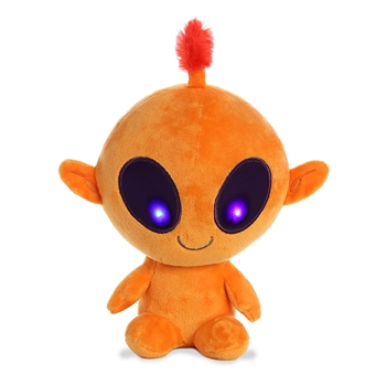 Tango the Light Up Orange Alien Stuffed Animal by Aurora