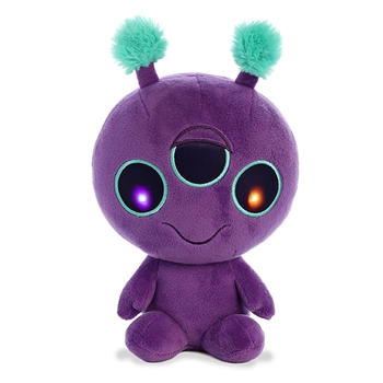 Boink the Light Up Purple Alien Stuffed Animal by Aurora
