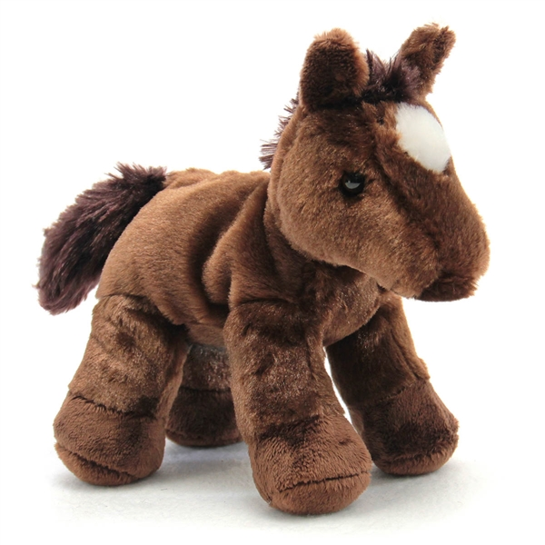 Chestnut The Stuffed Brown Horse By Aurora At Stuffed Safari