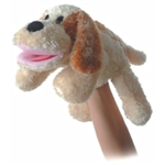 Scruff the Plush Dog Full Body Puppet By Aurora