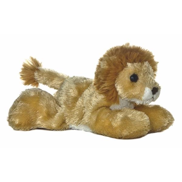 Lionel The Plush Lion Mini Flopsie Aurora Stuffed Safari