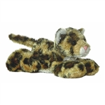 Lexi the Plush Leopard Mini Flopsie By Aurora
