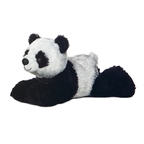 Little Stuffed Panda Mini Flopsie By Aurora Stuffed Safari