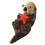 Otto the Stuffed Otter by Aurora