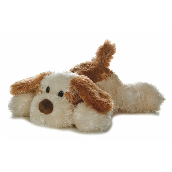 Brown And White Cat Plush