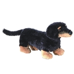 Vienna the Stuffed Dachshund Dog by Aurora