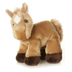 Prancer the Stuffed Tan Horse Mini Flopsie by Aurora
