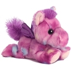 Tuttifrutti the Small Stuffed Purple Pegasus Bright Fancies by Aurora