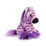 Taffy the Stuffed Purple Zebra Magnificent Manes by Aurora