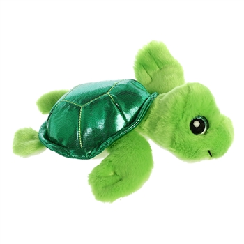 Maui the Small Green Stuffed Sea Turtle Sparkle Tales by Aurora