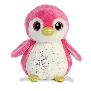 Isla the Small Pink Stuffed Penguin Sparkle Tales by Aurora