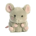 Frisk the Mouse Stuffed Animal Rolly Pet by Aurora