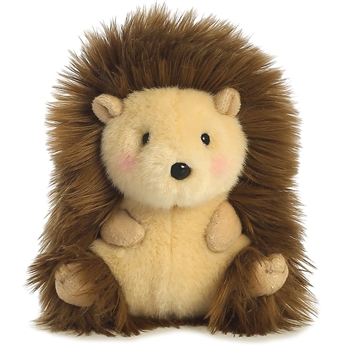 Merry the Hedgehog Stuffed Animal Rolly Pet by Aurora