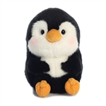 Peewee the Penguin Stuffed Animal Rolly Pet by Aurora