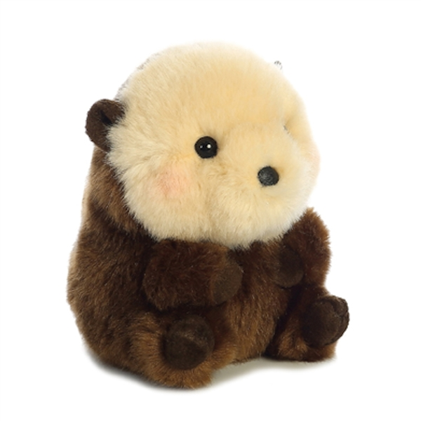 Sea Otter Stuffed Animal Rolly Pet Aurora Stuffed Safari