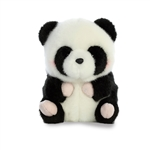 Precious the Panda Stuffed Animal Rolly Pet by Aurora