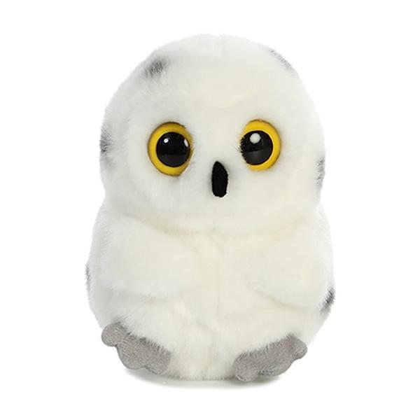 Hoot The Snowy Owl Stuffed Animal Rolly Pet Stuffed Safari